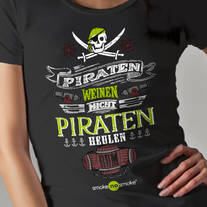 Piraten T-Shirt male