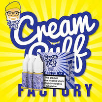 Blueberry by Cream Puff Factory 3 x 10ml