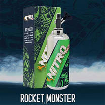 Rocket Monster 50ml + 10ml Base nikotinfrei