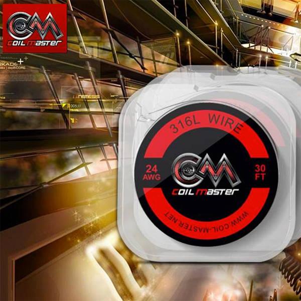Edelstahldraht V4A - 316L 0,5/0,4/0,3mm